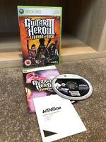 Microsoft Xbox 360 Guitar Hero III 3 Legends Of Rock PAL VGC (3)