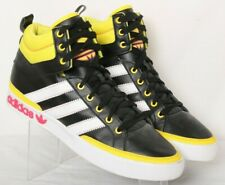 Adidas Q32546 Vintage Top Court Black Leather Basketball Sneakers Men's US 12