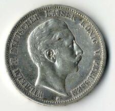 PREUSSEN, Wilhelm II., 5 Mark 1888 A, Jg. 101, sehr schön, selten!