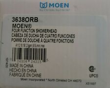 Moen 3638ORB 2.5 GPM Four Function Shower Head