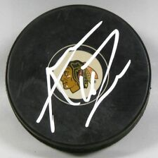 ANDREW LADD Signed CHICAGO BLACKHAWKS HOCKEY PUCK! 1006906
