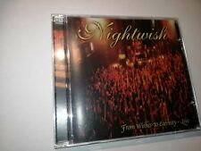 NIGHTWISH - FROM WISHES TO ETERNITY CD LTD VERY RARE 3$ shipping OOP HTF