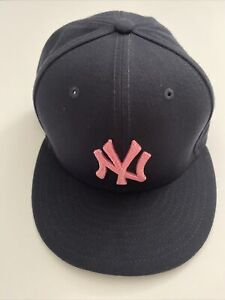 Tyler Wade 2021 Game Worn & Used NY Yankees Mother's Day Hat Cap - MLB Hologram