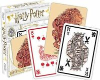 HARRY POTTER - GRYFFINDOR - PLAYING CARD DECK - 52 CARDS NEW - 52439