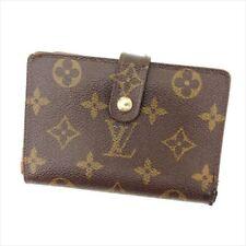 Louis Vuitton Wallet Purse Coin purse Monogram Brown Woman Authentic Used C231