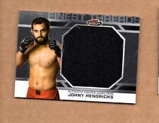2013 Finest UFC Finest Threads Jumbo Fighter Relics #JFTJH Johny Hendricks
