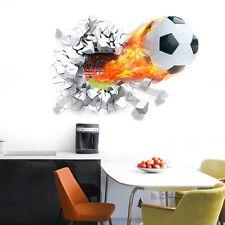 3D Décor Sticker Football Muraux Pépinière Paysage Vinyl Decal Pr Enfant Chambre