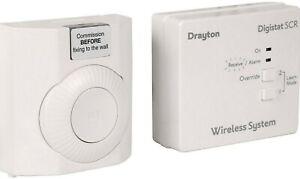 Drayton RF601 Drayton Digistat and RF Wireless Room Thermostat new  POST FREE