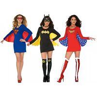 Female Superhero Costumes Adult Halloween Fancy Dress