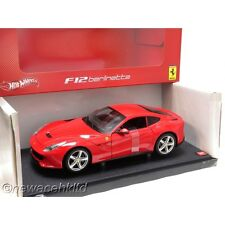 Ferrari F12 Berlinetta RED HOTWHEELS MODEL 1/18 #BCJ72