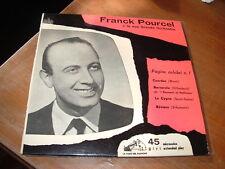 """FRANK POURCEL """"BARCAROLA-CZARDAS-LE CYGNE-REVIERE"""" E.P.  ITALY'62"""