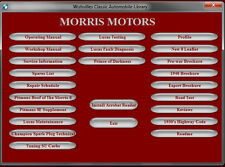 Morris 8/eight Series E Companion  dvd rom