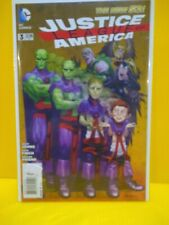 JUSTICE LEAGUE OF AMERICA #3 Mad Variant New 52 DC 1st Print
