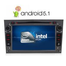 """2 DIN 7"""" Car DVD Stereo Sat Nav GPS BT Opel Vauxhall Astra Corsa Antara Grey"""