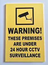 CCTV  SIGN - 400 x 300mm No Parking - Security - Safety