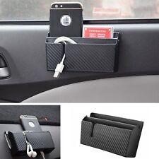 Accessori per auto universale nero telefono sigaretta Organizer Bag con foro di ricarica