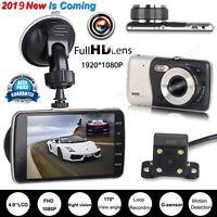 4.0'' Auto Kamera Rearview Recorder DVR Dashcam HD 1080P Video Nachtsicht 170°