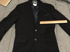 G STAR RAW Denim Wool Suit Blazer 38R Jacket US small 48 EU Bronson Stanford
