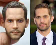 Custom 1/6 Paul Walker Fast & Furious 7 Head Sculpt for Hot Toys Body