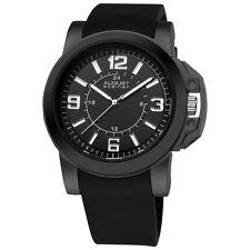 August Steiner Men's AS8057BK Quartz Sport Silicone Strap Watch $395