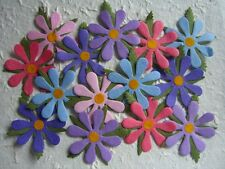 25 Mulberry Paper FLOWERS MPFF25B 55mm Scrapbooking Paper Craft Embellishments