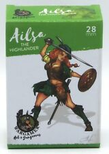 Wargamer HD-28-12 Ailsa the Highlander (28mm) Hot & Dangerous Female Warrior NIB