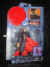 X-MEN The Movie IAN McMELLEN as MAGNETO Magnetic Action Toy Biz 2000 Fig. #2