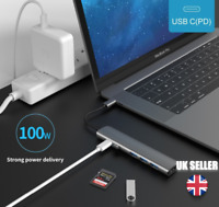 USB 3 Type-C Hub To HDMI Adapter 4K Thunderbolt 3 USBC 3.0 TF SD 6 in 1