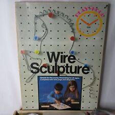 Vintage Wire Sculpture Pressman Toy USA 3334 Box Game RARE Prop