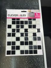 Clever Tiles 5 Pack Of Stick On Self Adhesive MosaicTiles