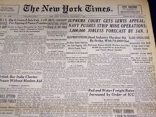 1946 DECEMBER 7 NEW YORK TIMES - SUPREME COURT GETS LEWIS APPEAL - NT 3230