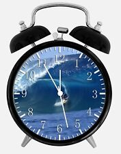 "Surfing Alarm Desk Clock 3.75"" Home or Office Decor W282 Nice For Gift"