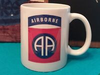 82nd Airborne Division Patch - Classic Coffee Military Mug 11oz or 15oz