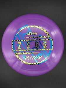 New Discraft McBeth Big Z Zeus - 170-172g - Purple - Misprint Double Stamp
