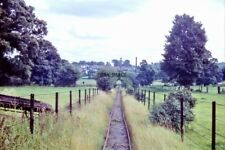 PHOTO  COLNE VALLEY WATERWORKS RAILWAY. AUGUST 1960.THE LONDON AND NORTH WESTERN