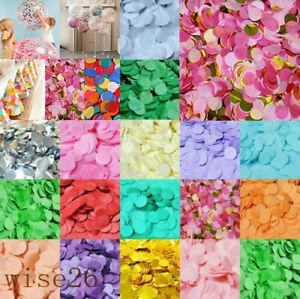Rainbow Circles Confetti Biodegradable Kids Party Wedding Throwing Decor 3000pcs