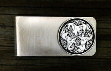 Celtic Horse Money Clip | Handcrafted Fine Pewter Made in USA