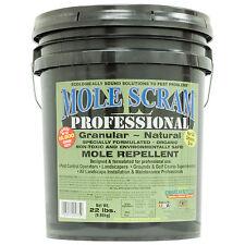 Mole Repellent Mole Scram Professional Mole Control 22 Lbs  Covers 16,500 Sq Ft