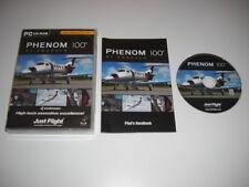 EMBRAER PHENOM 100 Pc DVD Rom Add-On Flight Simulator Sim 2004 + X FS2004 FSX FS