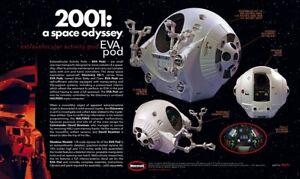 Moebius 1/8 2001: A Space Odyssey EVA Pod Plastic Model Kit 2001-4