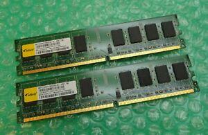 4GB Kit (2 x 2GB) Elixir M2Y2G64TU8HD5B-AC PC2-6400U 800MHz DDR2 Desktop Memory
