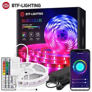 Music Wifi APP LED Strip Light Kit IR 44 Keys Color RGB 5050 2835 SMD Flexible