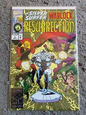 Silver Surfer Warlock Resurrection 1-4 Marvel Comics
