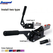 BLACK Universal Hydraulic Handbrake E-Brake Type 2 Vertical Horizontal Drift