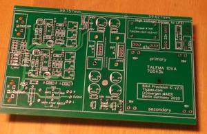 PCB RIAA Phono-Vorverstärker Precision v2.3 preamp mit ultra low noise FET ICs