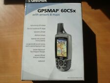 Garmin GPSMAP 60CSx Handheld Bundle,+128 Mb MicroSD. NEW IN BOX. Free Shipping
