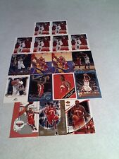 *****DerMarr Johnson*****  Lot of 17 cards.....11 DIFFERENT / Basketball