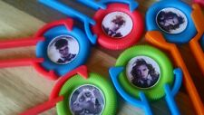 12 Harry Potter disk SHooter birthday party favor treat loot bag, toy, goodie