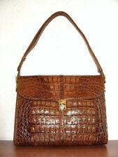Krokodilleder Tasche, IRV, Krokotasche, Alligator, Crocodile Leather Bag