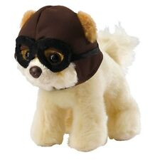 GUND Itty Bitty Boo with Pilot Hat & Goggles - The Worlds Cutest Dog